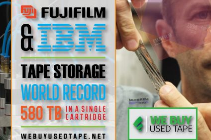 FujiFilm and IBM Reveal a Tape Storage World Record