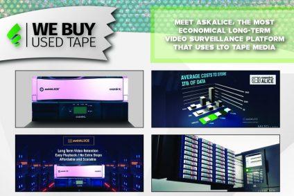 LTO Tape meets long term economical Video Surveillance