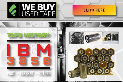 IBM 3850: Past, Present, and Future of Data Storage