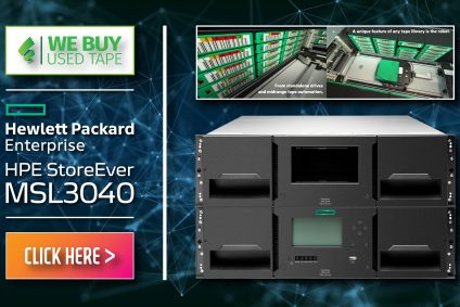 HPE StoreEver MSL3040 – A Solid Data Tape Storage Setup