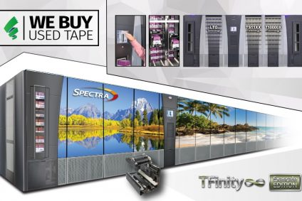 Spectra unveils its largest, most advanced tape library to date; Introducing Spectra TFinity ExaScale