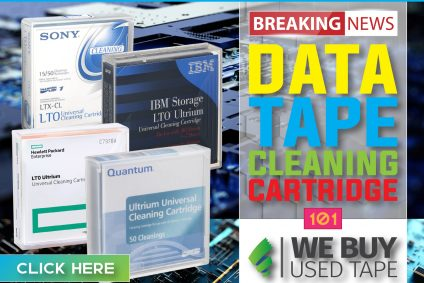 Data Tape Cleaning Cartridges 101