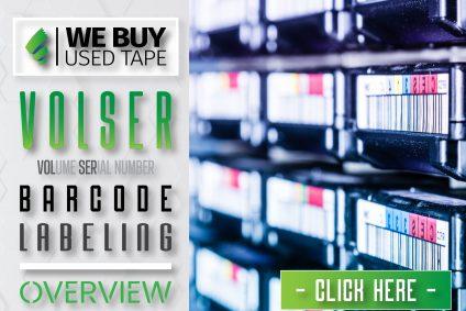 VOLSER Barcode Labeling Overview