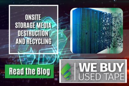 ONSITE STORAGE MEDIA DESTRUCTION AND RECYCLING
