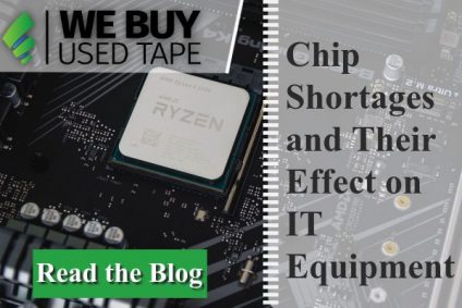 How Has The Current Chip Shortage Impacted The IT Equipment Landscape?