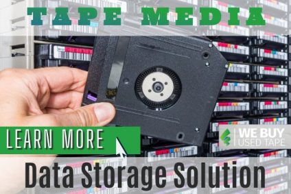 Is the use of tapes still viable as a storage media solution?