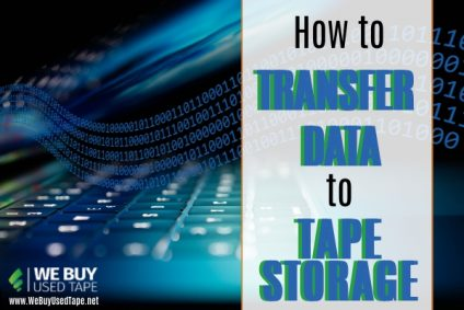 How to Transfer Data to Tape Storage